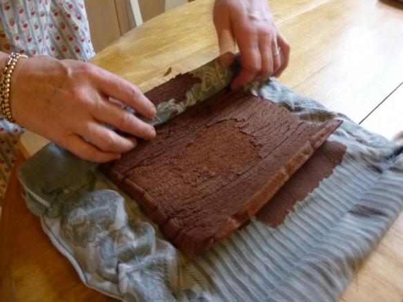 Bûche au Chocolat