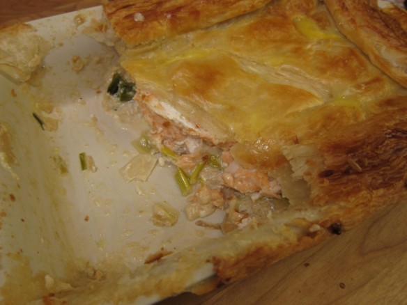 Fish Pie with Leeks