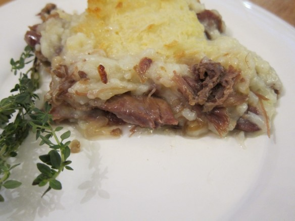 Duck Confit in a Pie