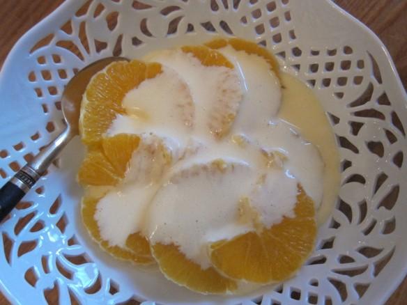 Oranges à la Russe