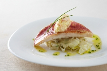 Red Mullet and Candied Fennel