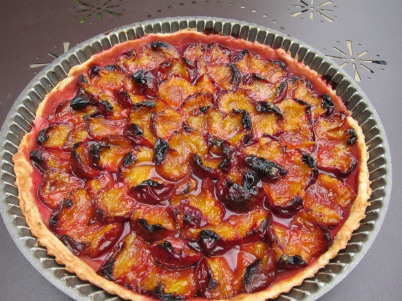 Red Plum Tart