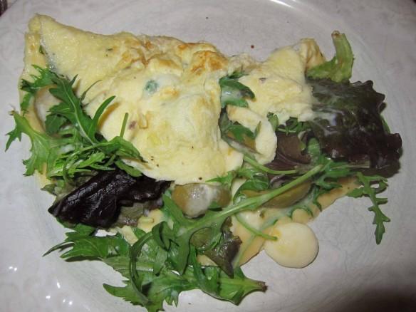 Omelette Folle à la Roquette