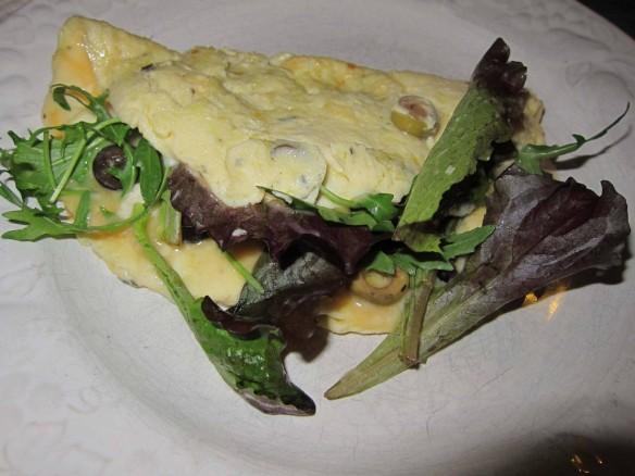 Crazy Baby Leaf Salad Omelette