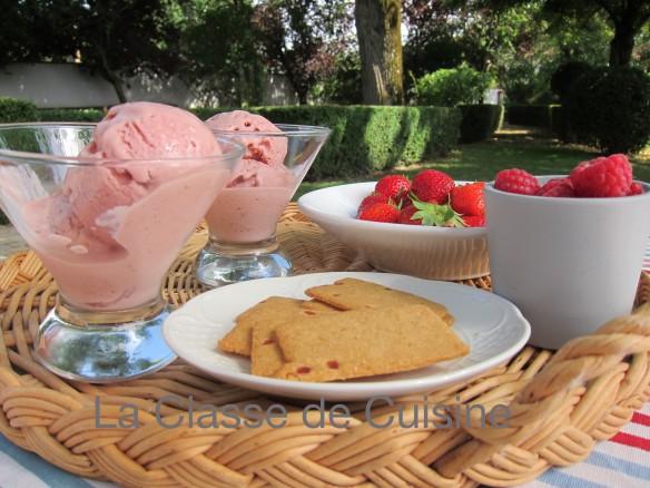 Red Berry Ice Cream