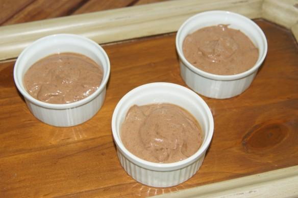 Crèmes Légères au Chocolat