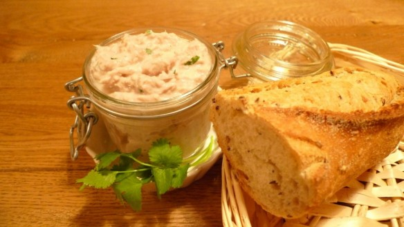 Tuna Rillettes with Coriander(cilantro)