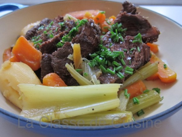 Ox Cheek in Pot-au-feu Way