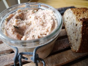 Two Salmon Rillettes