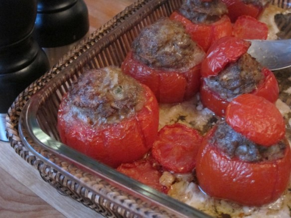 Stuffed Tomatoes, Butcher's Way