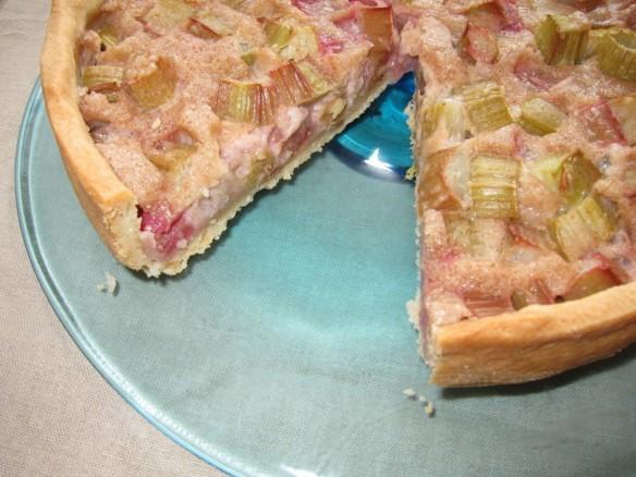 Rhubarb & Cinnamon Tart