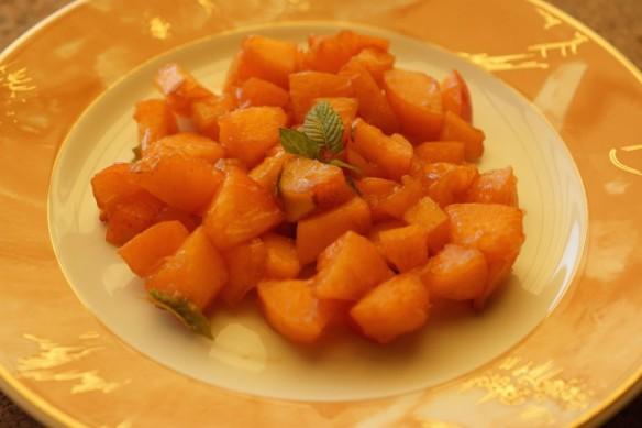 Apricot & Lime Carpaccio