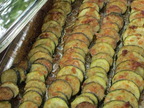 Gratin de Courgettes et Parmesan