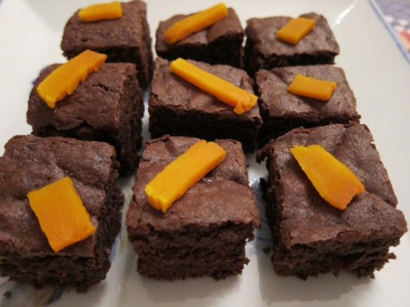 Pumpkin & Chocolate Brownies