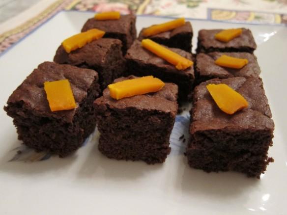 Brownies Chocolat/Citrouille
