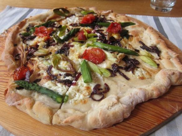 Pizza Poireau/Asperges