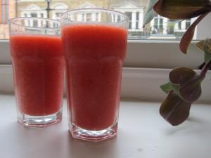 Smoothie fraise framboise - La Classe de Cuisine