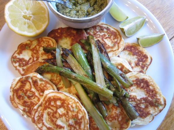 Asparagus & Ricotta Fritters