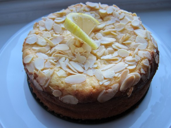 Ricotta, Lemon & Almond Cake
