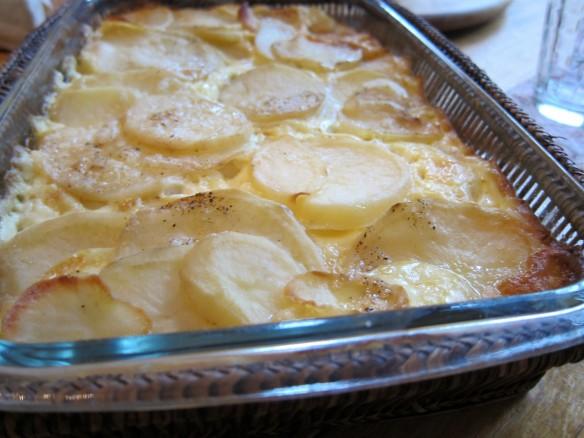 Dauphinoise Potatoe Gratin