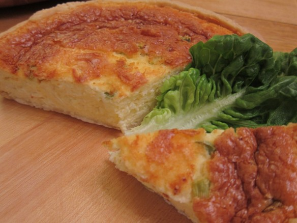 Light Cauliflower Quiche