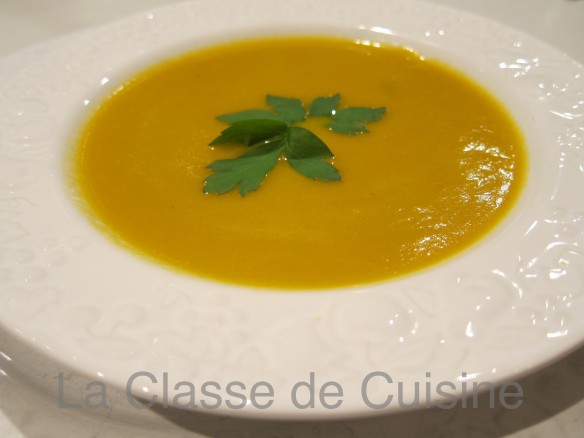 Carrot and Parsley Soup