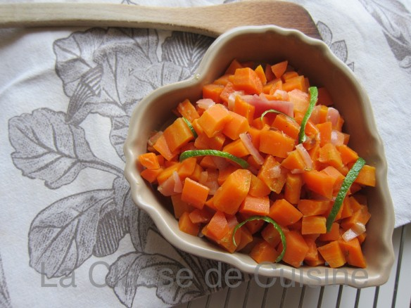 Carrots with Lime