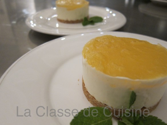 Cheese Cake à l'Ananas