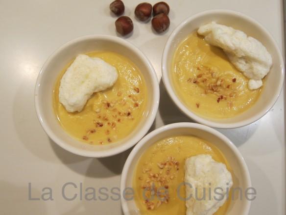 Soupe Butternut et Noisette