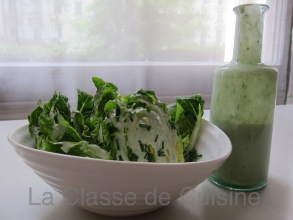 Little Gem Lettuce with Blue Cheese