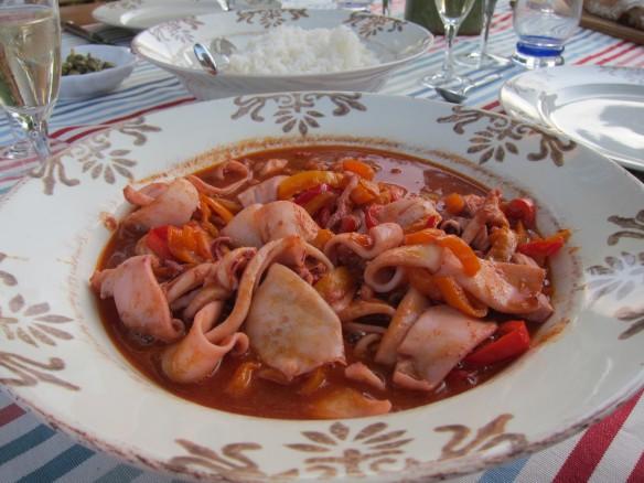 Squid, Provençal Way