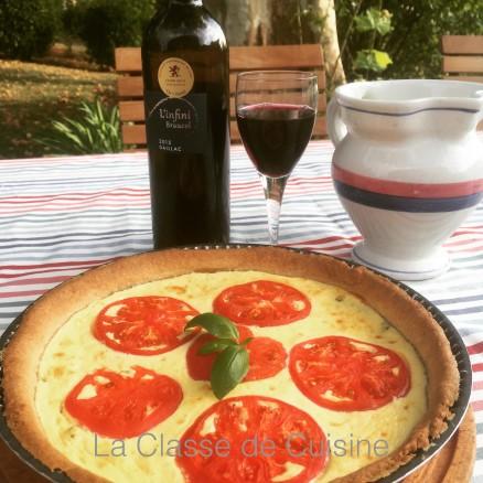 Ricotta & Tomato Pie