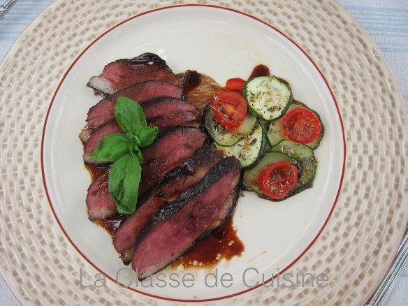 Spiced Duck Breasts
