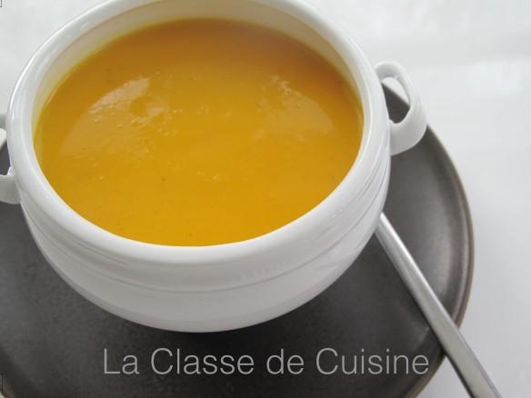 recette Butternut soupe