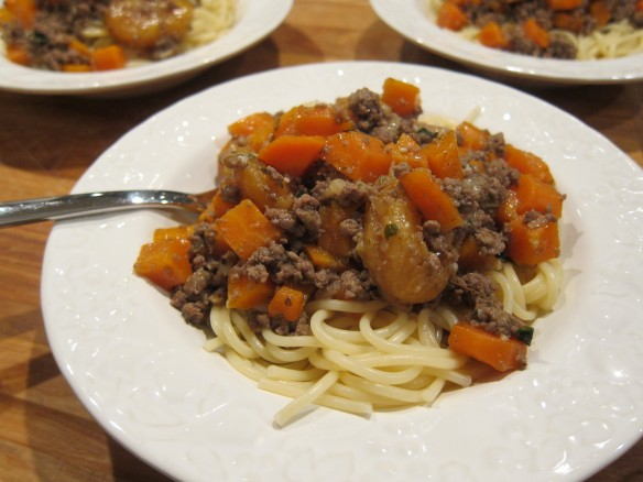Lamb Mince and Carrots with Apricots
