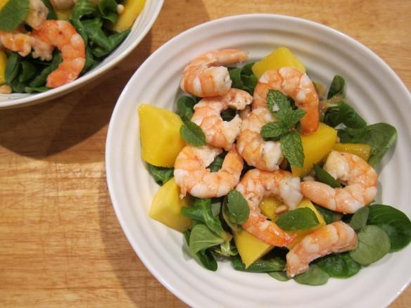 Salade Fraîcheur aux Crevettes