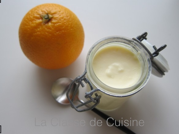 Tangy Orange Mousse
