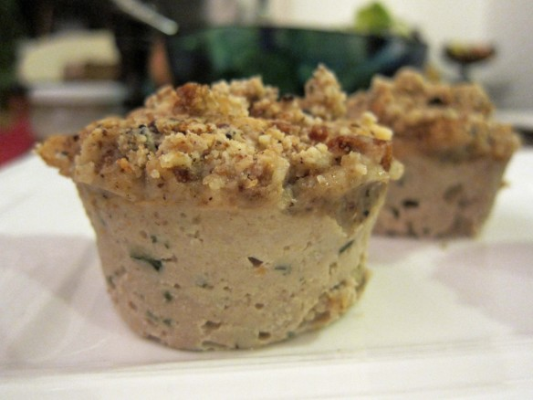 Tuna & Lemon Crumble