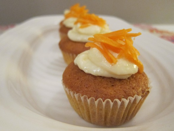 Muffins façon Carrot Cake