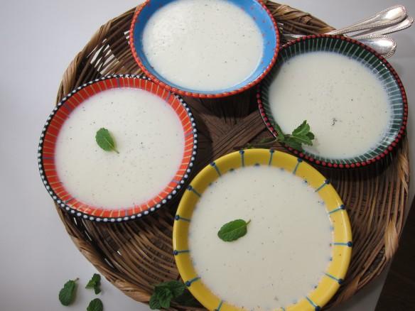 blanc-manger au lait dAmande