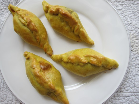 Empanadas with Chicken and Spinach