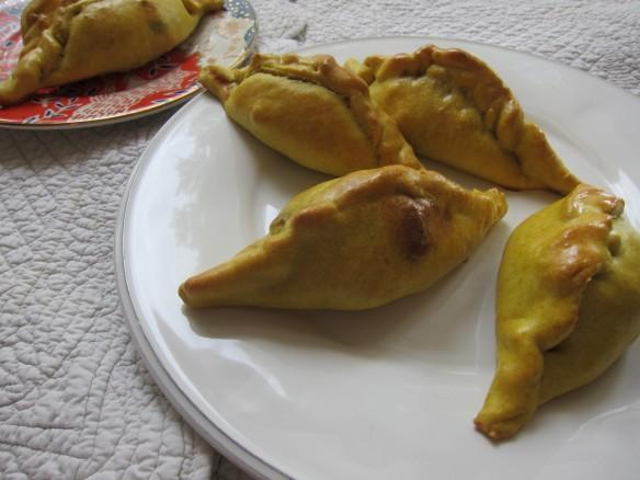 Empanadas au Poulet aux Epinards