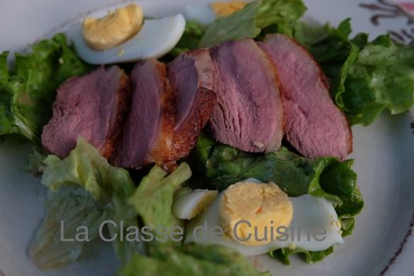 Duck Magret Salad