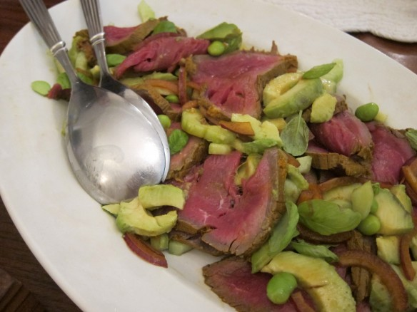 Beef Tataki and Avocado