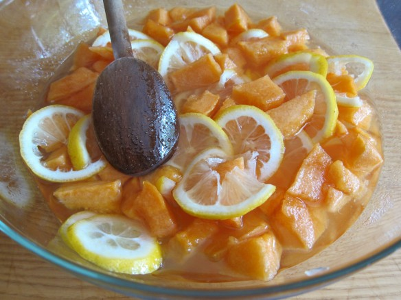Confiture de Melons et Citrons
