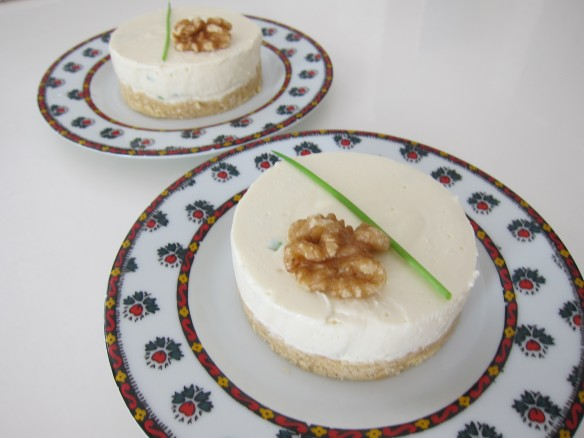 Cheesecake Ail et Fines Herbes