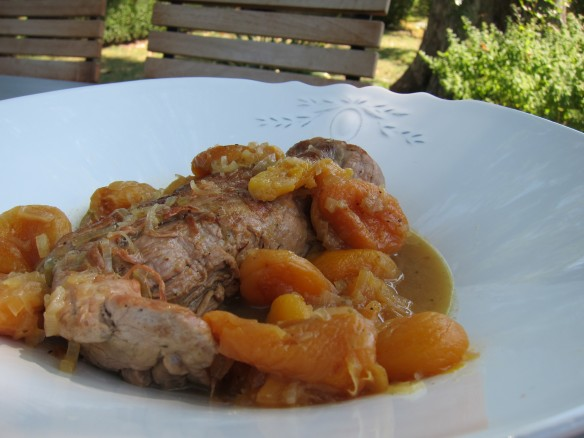 Pork Tenderloin with Sun dried Apricots