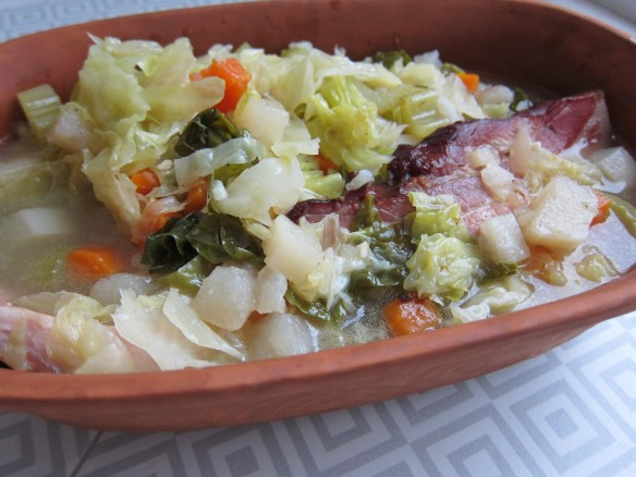 Bacon Vegetable Soup