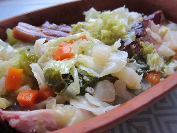 Soupe de Légumes au Lard