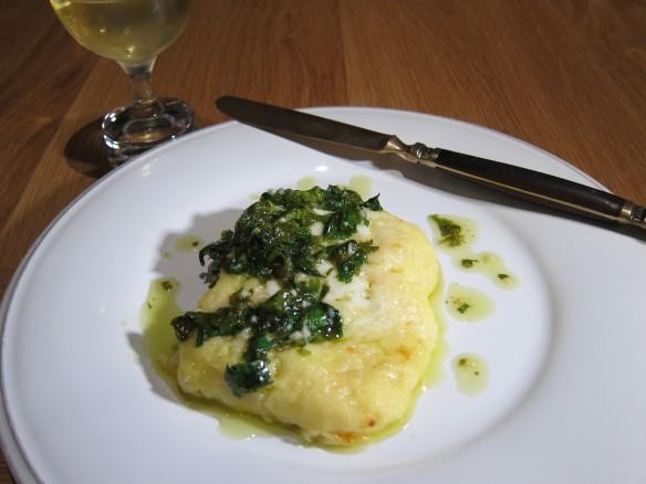 Three Cheese Semolina Gnocchi